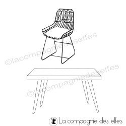 Acheter tampon caoutchouc bureau et chaise de bureau