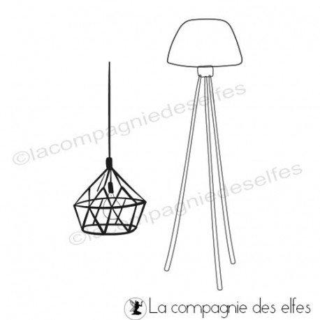 Cartes 2/3 Tampon-encreur-lampes