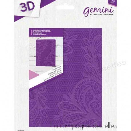 Acheter plaque embossage embossin folder lace