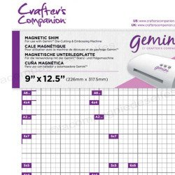 Gemini plaque magnétique Crafters Companion