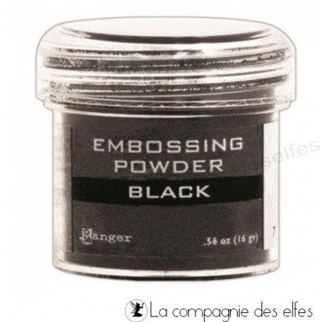 Black Ranger powder | poudre embosser noire