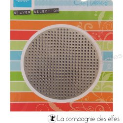 Dies cross stitch rond