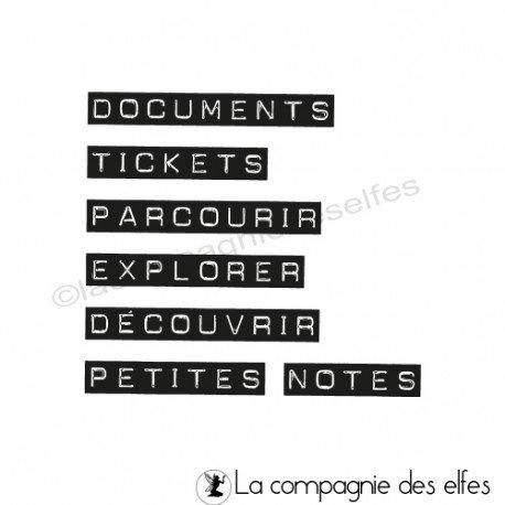lundi 26 juillet travel note par Béatrice Tampon-notes-tickets-dymo