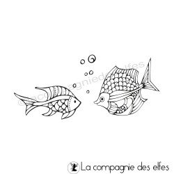 Tampon les poissons bulles