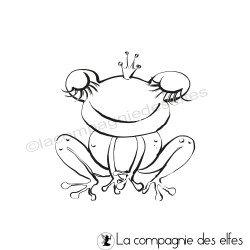Tampon la grenouille reine