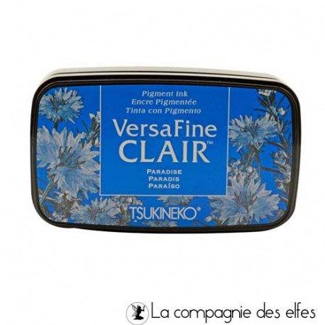 Achat encre versafine bleu paradise