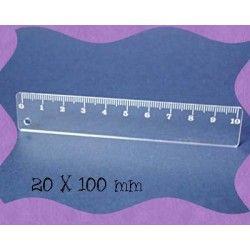 mètre 10 CM PLEXI