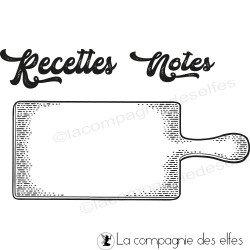Tampon planche de cuisine
