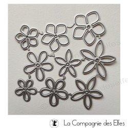 Dies fleurs composition