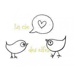 TAMPON oiseaux coeur - nm