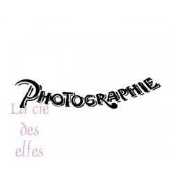 tampon PHOTOGRAPHIE vintage nm