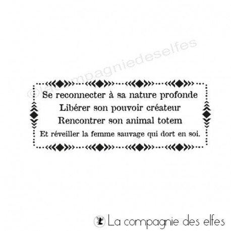 Cartes chaman 2/2 programmé 19/10 Tampon-liberer-son-pouvoir-createur