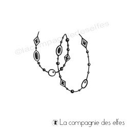 Tampon collier chaman
