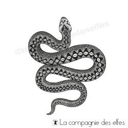 Tampon le serpent collection chaman