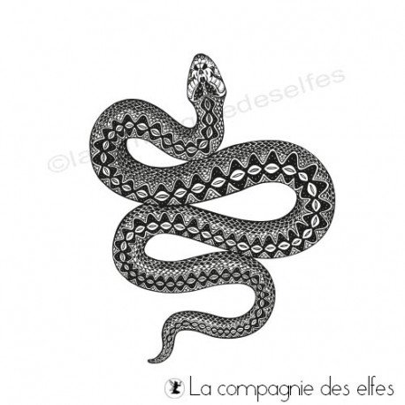 Cartes chaman 2/2 programmé 19/10 Tampon-le-serpent-collection-chaman