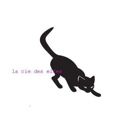 tampon BOIS petit chat