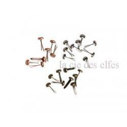99 brads long fasteners métal vieilli RANGER