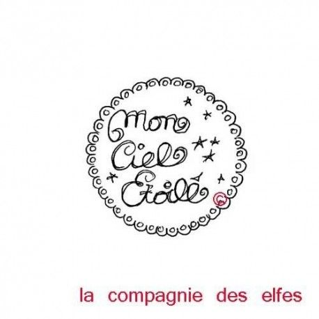 mon ciel toil tampon nm label la compagnie des elfes. Black Bedroom Furniture Sets. Home Design Ideas
