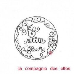 label ma petite fleur - tampon nm
