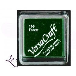 encre tissu textile vert forêt