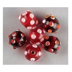 acheter perle rouge | achat perle ronde