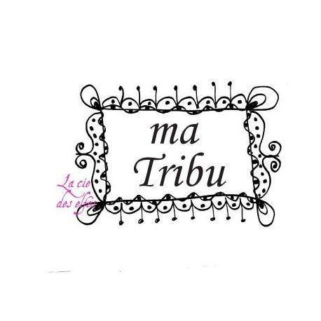 Tampon encreur tribu   tampon scrap tribu