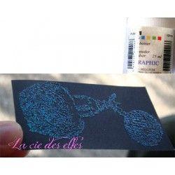 poudre holographique | tutoriel embossage