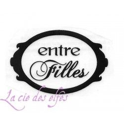 LABEL entre Filles tampon nm