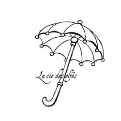 Tampon encreur naissance | birth stamp | umbrella stamp