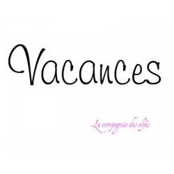 tampon Vacances nm