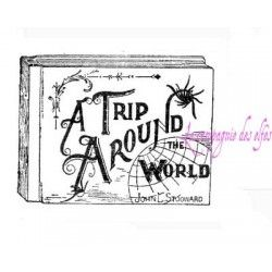 Tampon LIVRE a trip around the world - nm