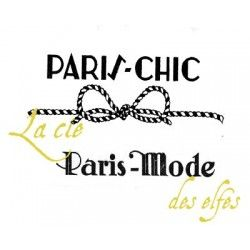 PARIS CHIC PARIS MODE tampons VINTAGE nm