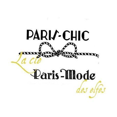 PARIS CHIC PARIS MODE tampons VINTAGE nm