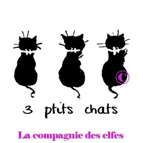 tampon nm trois petits chats