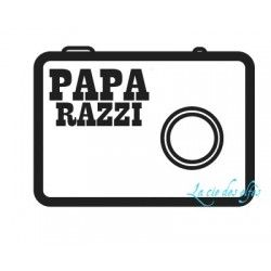 PAPA RAZZI appareil photo tampon nm