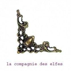 coin métal | embellissement scrapbooking
