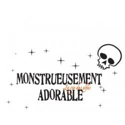 monstrueusement adorable tampon nm