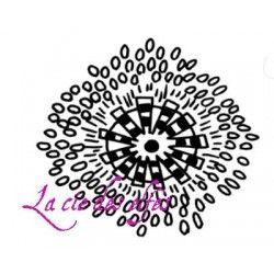 Fleur curl réf 2 PM tampon nm
