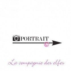 Tampon portrait photo | tampon encreur portrait