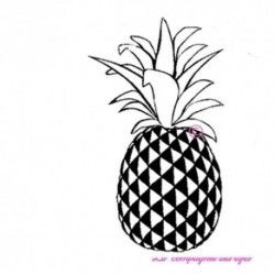 ananas - GM - tampon nm