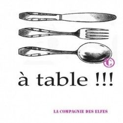 à table !!! tampon nm