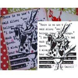 Alice au pays des merveilles tampon nm