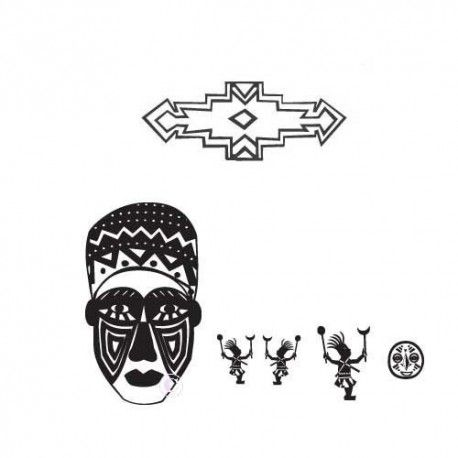 tampons motifs afrique, nm