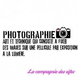 Tampon scrapbooking photographie