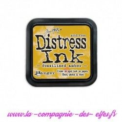 distress encre amber fossilized