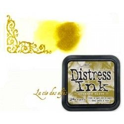 DISTRESS CRUSHED OLIVE encreur