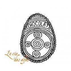 oeuf chocolat tampon nm