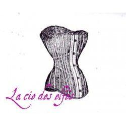 corset rétro tampon nm
