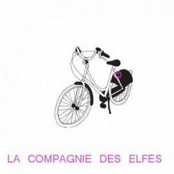 en vélo à Paris - tampon nm