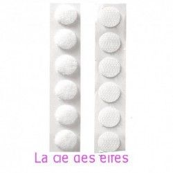 pastilles velcro autocollantes x 10
